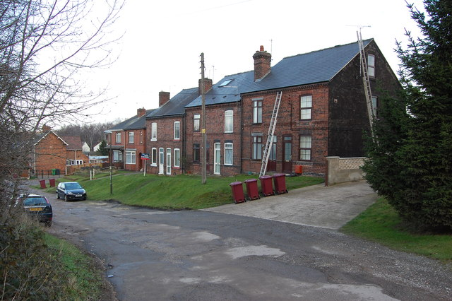 Terraced Row on Station Road