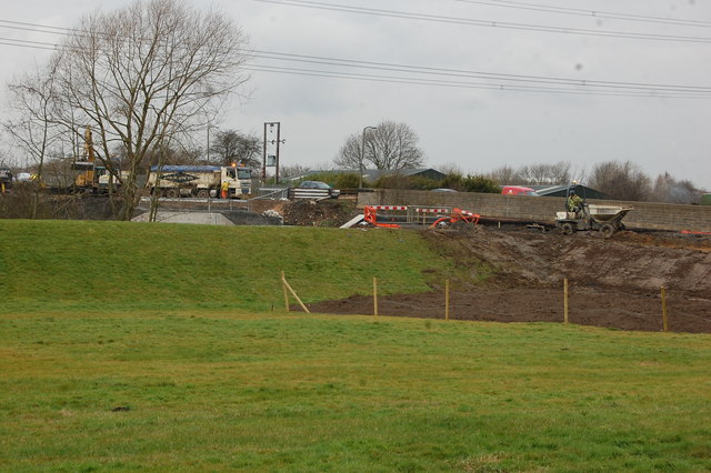 Construction Work on new Bridleway