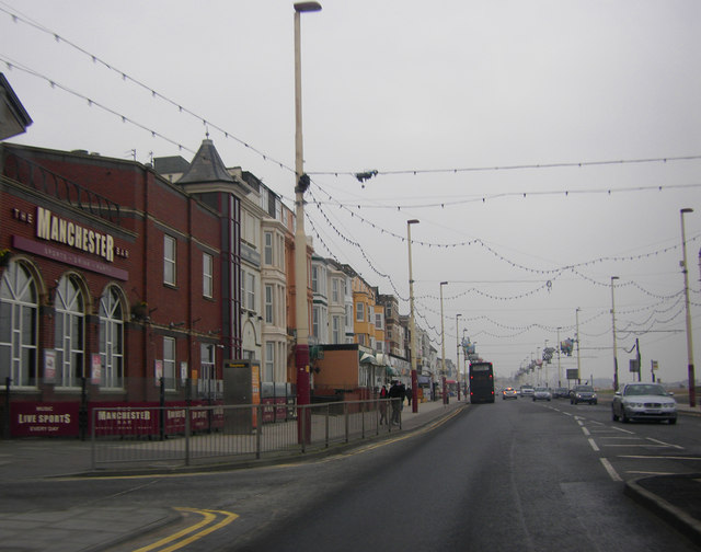 The Manchester and Blackpool Prom