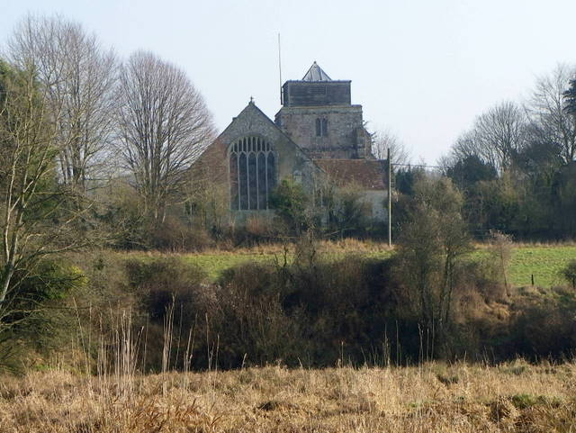 The Church of St George, Damerham