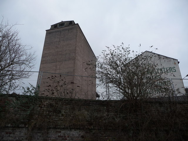Part of Ditherington Flax Mill