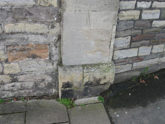 Bench Mark, Redland Court Road
