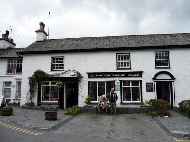 Beatrix Potter Gallery,Hawkshead, Cumbria