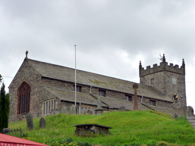 St Michael's and All Angels Church, Hawkshead, Cumbria