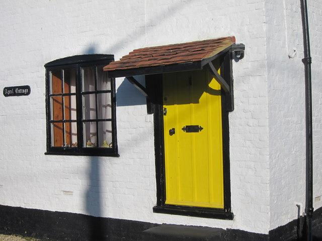 April Cottage entrance