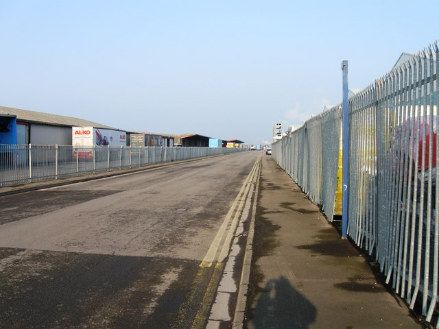 Bank Road, Chittening Industrial Estate
