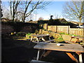 SE3836 : The beer garden at the Barley Corn Inn by Ian S