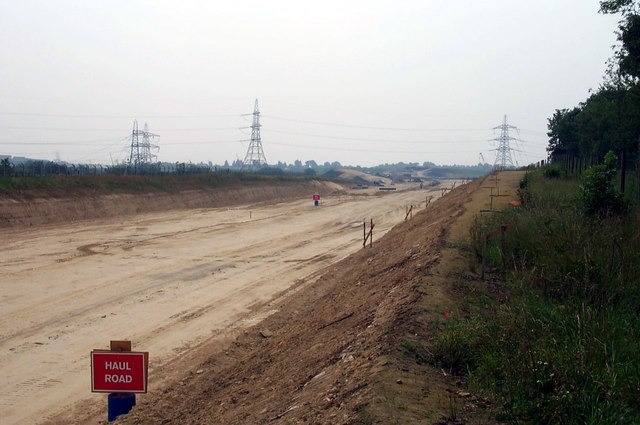 New Motorway Coming to this area very soon.
