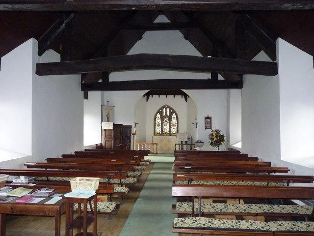 St Ruthen church interior