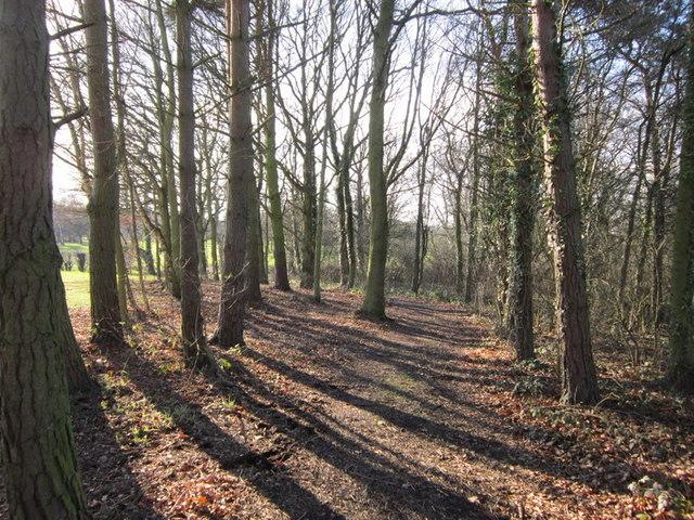 Walking towards Garforth golf course