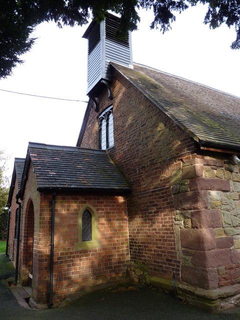 St Ruthen Church - the western doorway