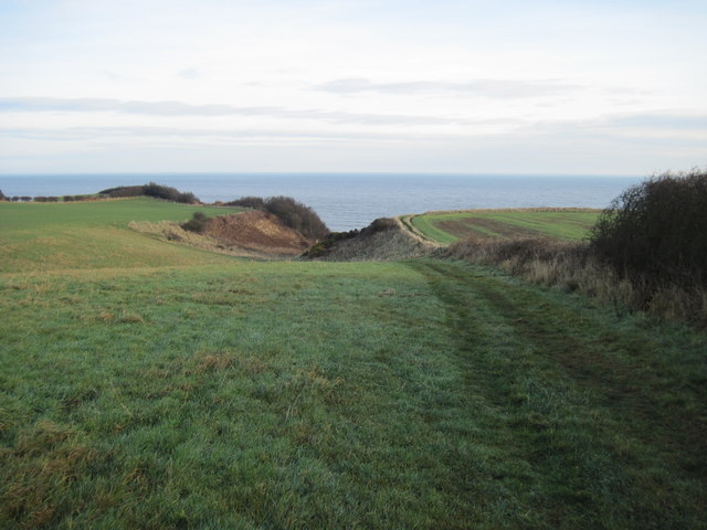 Footpath  to  Cloughton  Wyke  and  Cleveland  Way