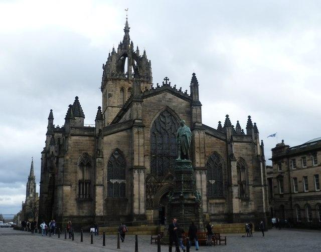 The High Kirk of Edinburgh