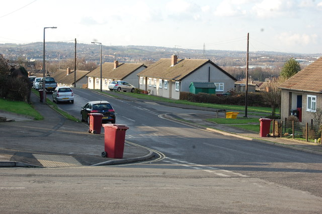 Junction Delves Road,Sheepcote Road & Chandos Crescent