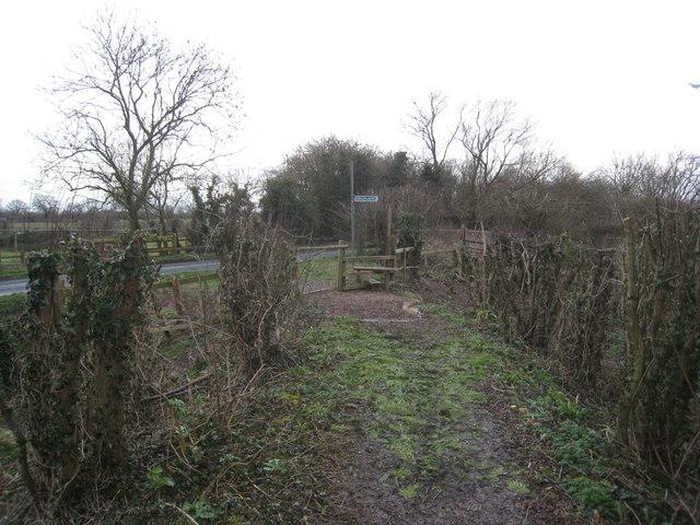 Approaching Sour Lane