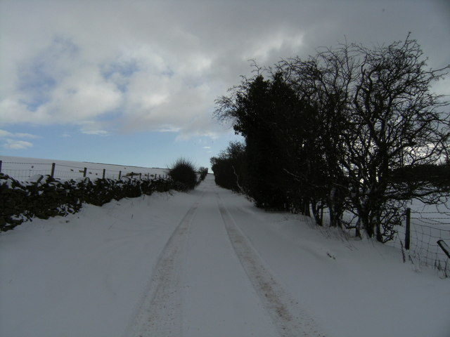 The Road to Cefn Coch