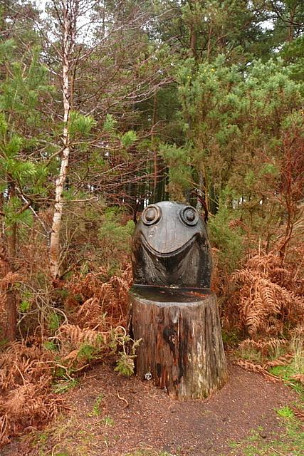 Sculpture in Horner Wood
