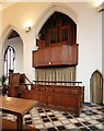 TQ4487 : St Margaret of Antioch, Balfour Road, Ilford - Organ by John Salmon