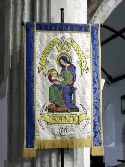 Banner, The Church of St Michael and All Angels