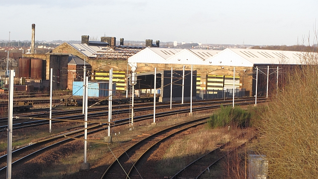 Engine sheds, Motherwell