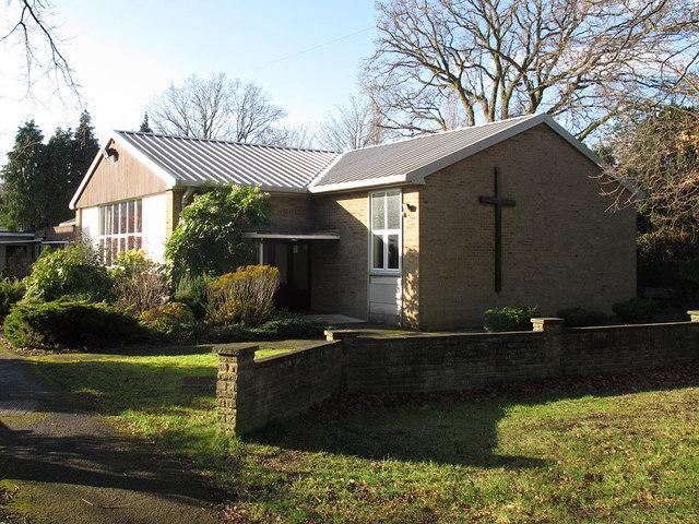 St Francis church, Horley