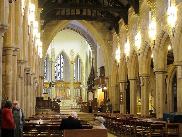 Bradford Cathedral - interior