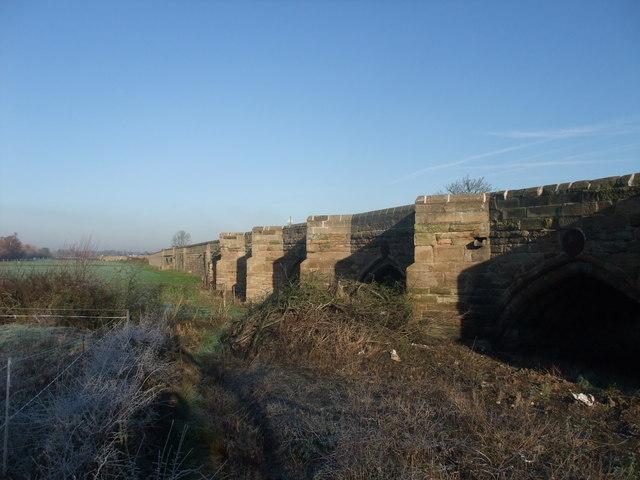 Swarkstone Bridge and Causeway