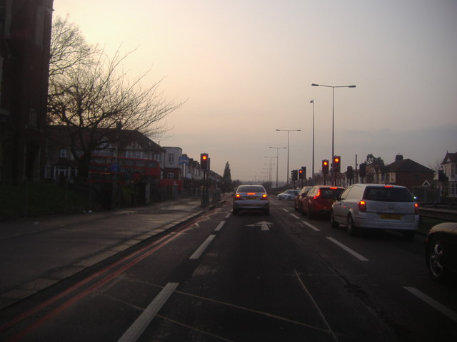 Junction of Eastern Avenue and The Drive