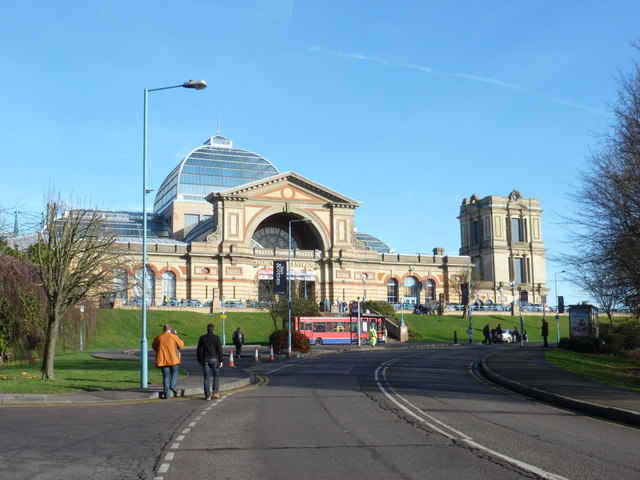 Alexandra Palace: the Palm Court Entrance