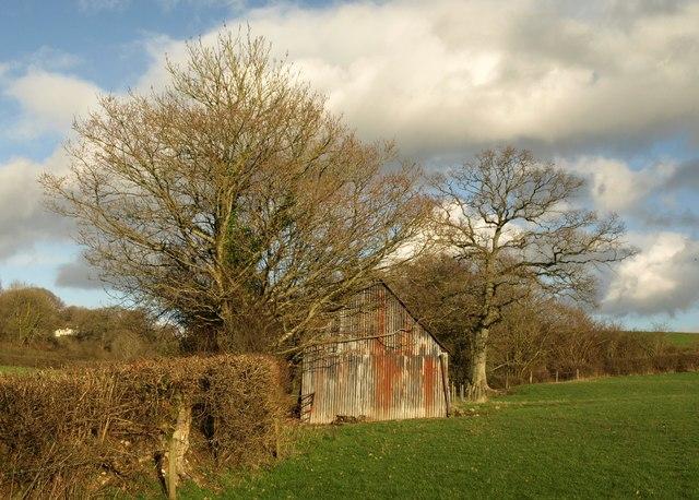 Barn near Upottery