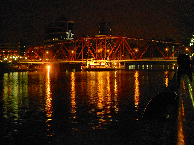 Salford Quays, The Detroit Swing Bridge