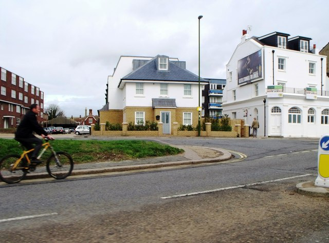 Junction of New Road and Brighton Road, Shoreham