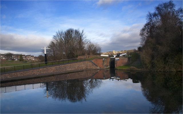 Stourbridge Canal - Wordsley Junction