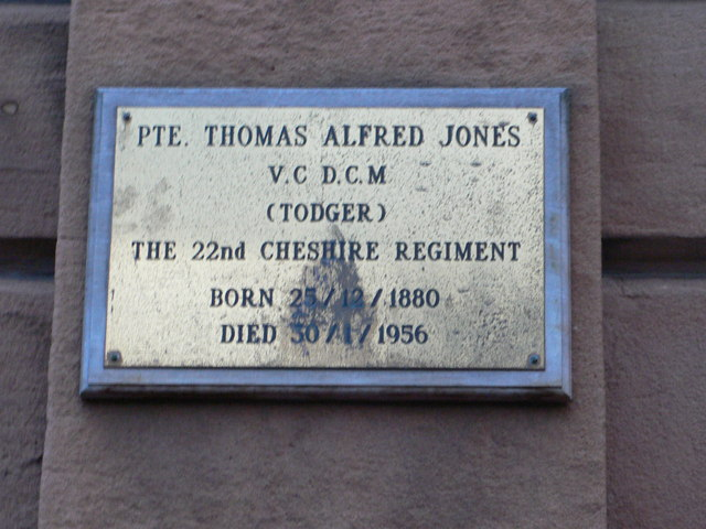 Plaque to a Runcorn WWI hero
