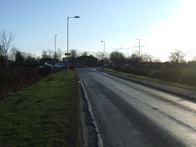 Thorner Lane towards the A64