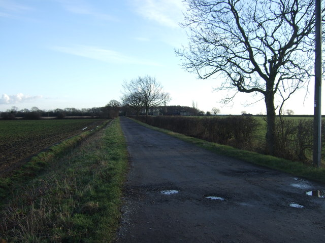 Track to Whinmoor Nook Farm