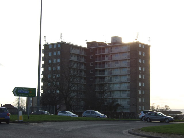 Block of flats, Seacroft