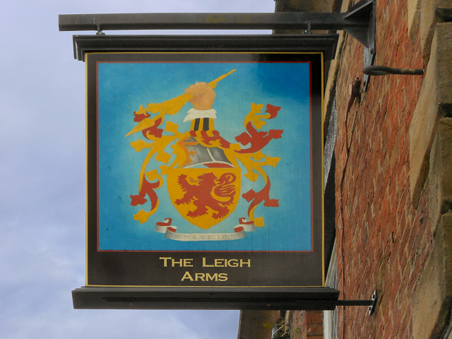 The Leigh Arms Sign