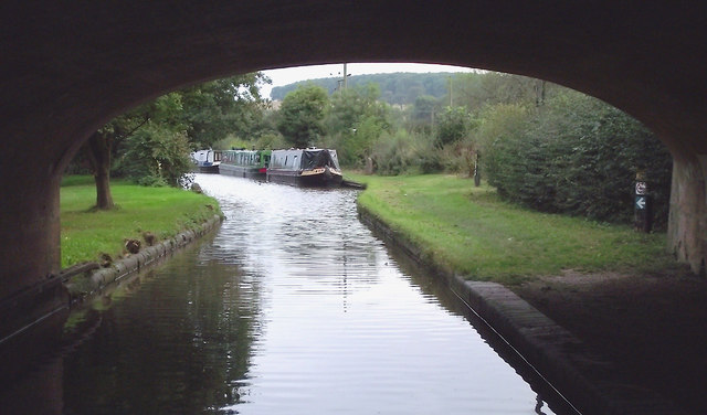 Canal at Weston upon Trent, Staffordshire
