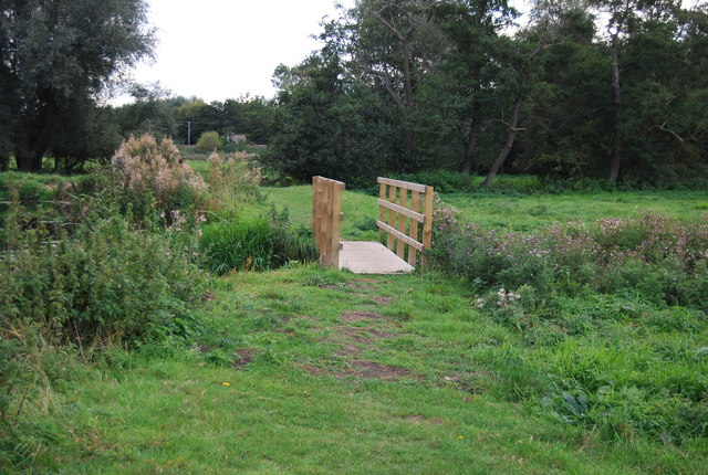 Footbridge, Gipping Valley Way