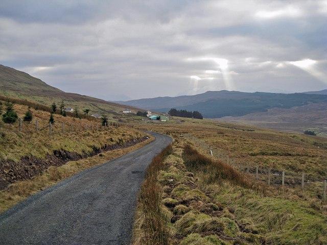 Approaching Glenmore