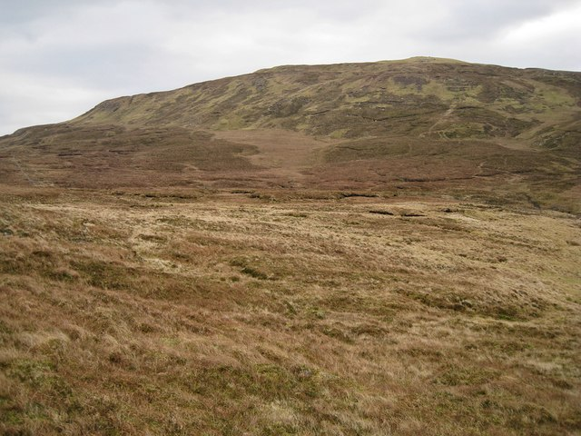 Moorland below Stròc-bheinn