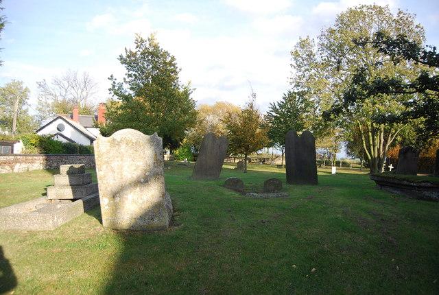 Churchyard, Church of St Mary