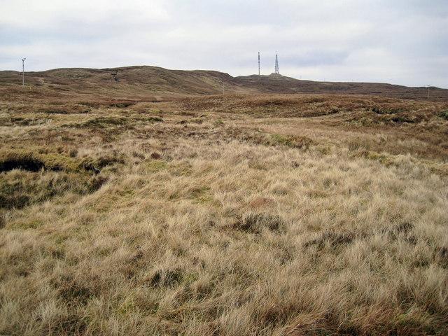 Moorland towards Skriaig
