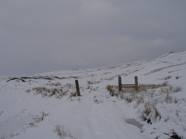 Bridleway to Sandy gate
