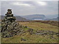 NG4639 : Viewpoint cairn on Stròc-bheinn by Richard Dorrell
