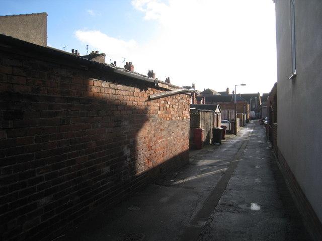 Ten foot behind Frances Street