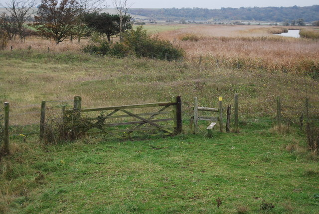 Stile on Curlews, Criminals and Contraband path