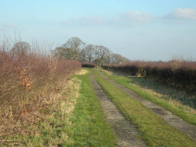 Footpath to Weaste Lane Farm