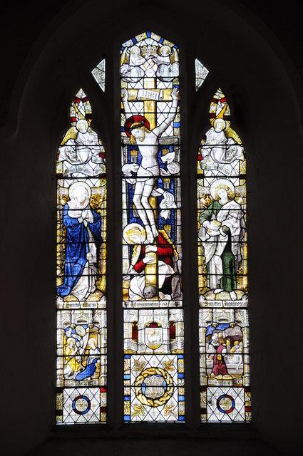 East window, Eardisley church